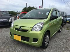 沖縄の中古車 ダイハツ ミラ 車両価格 19万円 リ済込 平成19年 10.0万K ライムグリーン