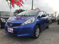 沖縄の中古車 ホンダ フィット 車両価格 43万円 リ済込 平成22年 7.7万K ブルー