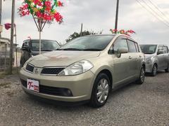 沖縄の中古車 日産 ティーダ 車両価格 19万円 リ済込 平成17年 7.0万K シャンパンゴールド