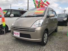 沖縄の中古車 スズキ MRワゴン 車両価格 19万円 リ済込 平成17年 4.3万K ゴールド