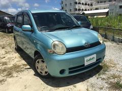 沖縄の中古車 トヨタ シエンタ 車両価格 54万円 リ済別 平成17年 8.1万K ブルー
