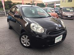 沖縄の中古車 日産 マーチ 車両価格 59万円 リ済別 平成23年 6.2万K ブラウン