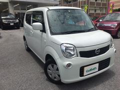沖縄の中古車 日産 モコ 車両価格 77万円 リ済別 平成25年 6.1万K スノーパールホワイト