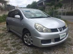 沖縄の中古車 日産 ウイングロード 車両価格 45万円 リ済別 平成18年 5.4万K シルバー