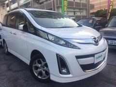 沖縄の中古車 マツダ ビアンテ 車両価格 58万円 リ済別 平成20年 11.2万K パール