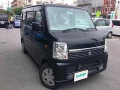 沖縄の中古車 スズキ エブリイワゴン 車両価格 65万円 リ済別 平成21年 6.2万K ブラック