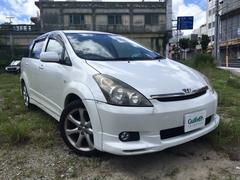 沖縄の中古車 トヨタ ウィッシュ 車両価格 34万円 リ済別 平成17年 12.7万K パール