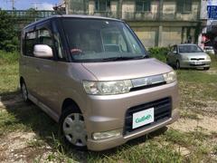 沖縄の中古車 ダイハツ タント 車両価格 34万円 リ済別 平成18年 16.0万K ピンク