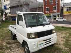 沖縄の中古車 三菱 ミニキャブトラック 車両価格 29万円 リ済別 平成14年 11.5万K 白