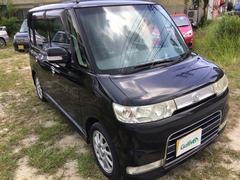 沖縄の中古車 ダイハツ タント 車両価格 49万円 リ済別 平成19年 9.8万K ブラックマイカ