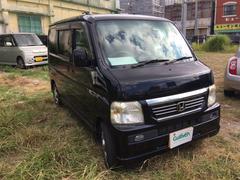 沖縄の中古車 ホンダ バモス 車両価格 39万円 リ済別 平成19年 7.6万K ブラック