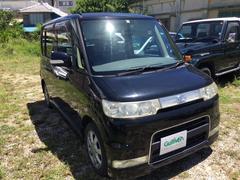 沖縄の中古車 ダイハツ タント 車両価格 34万円 リ済別 平成18年 12.6万K ブラックマイカ