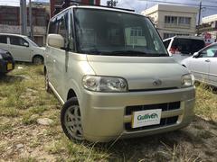 沖縄の中古車 ダイハツ タント 車両価格 29万円 リ済別 平成17年 12.5万K ゴールド