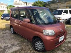沖縄の中古車 ダイハツ タント 車両価格 39万円 リ済別 平成20年 7.6万K ピンク