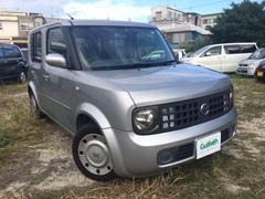 沖縄の中古車 日産 キューブ 車両価格 39万円 リ済別 平成16年 8.0万K シルバー