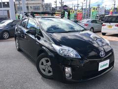 沖縄の中古車 トヨタ プリウス 車両価格 108万円 リ済別 平成23年 8.6万K ブラック