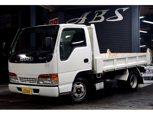 いすゞ エルフトラック ダンプ 4HF1 ディーゼル 5速MT 3...