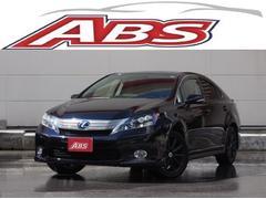 沖縄の中古車 レクサス HS 車両価格 155万円 リ済別 平成22年 4.8万K ブラックM