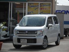沖縄の中古車 スズキ ワゴンR 車両価格 117.7万円 リ未 新車  ピュアホワイトパール