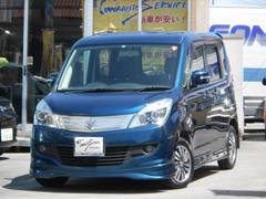 沖縄の中古車 スズキ ソリオ 車両価格 85万円 リ済込 平成24年 5.5万K グレースブルーパールメタリック