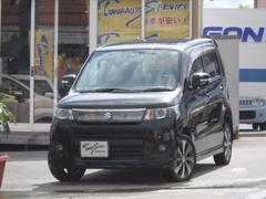 沖縄の中古車 スズキ ワゴンRスティングレー 車両価格 65万円 リ済込 平成23年 8.1万K スーパーブラック