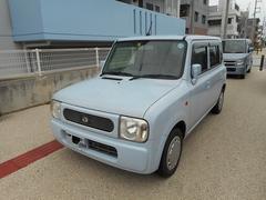 沖縄の中古車 スズキ アルトラパン 車両価格 42.8万円 リ済込 平成19年 5.5万K ライトブルー