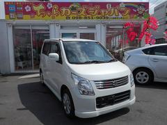沖縄の中古車 スズキ ワゴンR 車両価格 52.8万円 リ済込 平成22年 5.5万K パールホワイト