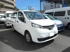 豊見城市 ちゅらカーズジャパン 日産 NV200バネットバン 福祉車両 車イス2基積み スロープ式 ホワイト 2.0万K 平成24年