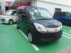 沖縄の中古車 スズキ ソリオ 車両価格 64.8万円 リ済込 平成23年 4.3万K ブラック