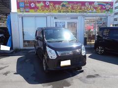 沖縄の中古車 スズキ ワゴンR 車両価格 69.8万円 リ済込 平成25年 2.1万K ブラック