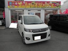 沖縄の中古車 スズキ ワゴンRスティングレー 車両価格 54.8万円 リ済込 平成24年 8.3万K パールホワイト