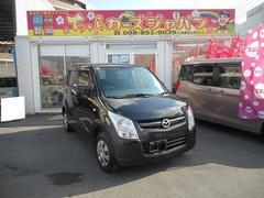 沖縄の中古車 マツダ AZワゴン 車両価格 45.8万円 リ済込 平成23年 7.0万K ブラック