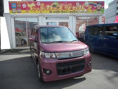 沖縄の中古車 スズキ ワゴンRスティングレー 車両価格 57.8万円 リ済込 平成23年 7.3万K パープル