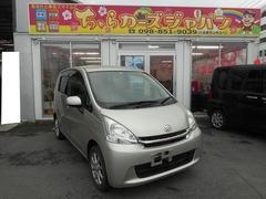 沖縄の中古車 ダイハツ ムーヴ 車両価格 42.8万円 リ済込 平成23年 8.9万K シャンパンゴールド