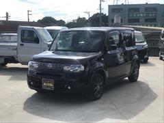 沖縄の中古車 日産 キューブ 車両価格 82万円 リ済込 平成25年 6.8万K ブラック