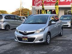 沖縄の中古車 トヨタ ヴィッツ 車両価格 80万円 リ済込 平成24年 5.7万K シルバーM