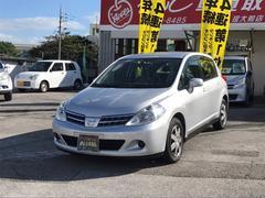 沖縄の中古車 日産 ティーダ 車両価格 75万円 リ済込 平成24年 2.8万K シルバー