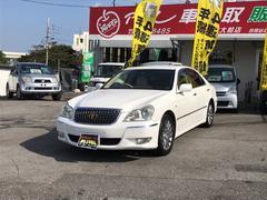 沖縄の中古車 トヨタ クラウンマジェスタ 車両価格 86万円 リ済込 平成19年 11.8万K パールホワイト