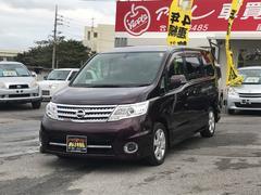 沖縄の中古車 日産 セレナ 車両価格 102万円 リ済込 平成22年 8.8万K パープルM