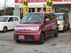 沖縄の中古車 スズキ MRワゴン 車両価格 79万円 リ済込 平成24年 4.6万K ピンクM