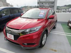 沖縄の中古車 ホンダ ヴェゼル 車両価格 230.8万円 リ済別 平成28年 0.7万K レッド