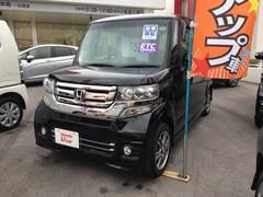 沖縄の中古車 ホンダ N BOXカスタム 車両価格 155.8万円 リ済込 平成28年 0.6万K ブラック