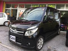 沖縄の中古車 スズキ パレット 車両価格 59万円 リ済込 平成20年 4.7万K ブラック