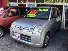 沖縄の中古車 マツダ キャロル 車両価格 13万円 リ済込 平成17年 12.9万K シルバー