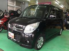沖縄の中古車 スズキ パレット 車両価格 49万円 リ済込 平成21年 13.0万K ブラック