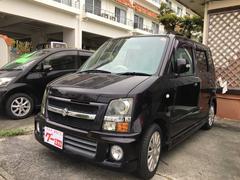 沖縄の中古車 スズキ ワゴンR 車両価格 30万円 リ済込 平成18年 6.5万K ブラック