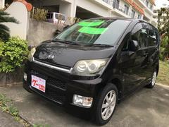 沖縄の中古車 ダイハツ ムーヴ 車両価格 33万円 リ済込 平成18年 9.0万K ブラック