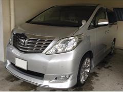 沖縄の中古車 トヨタ アルファード 車両価格 139万円 リ済別 平成20年 6.7万K シルバーM