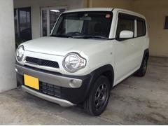 沖縄の中古車 スズキ ハスラー 車両価格 95万円 リ済別 平成26年 3.6万K ホワイト