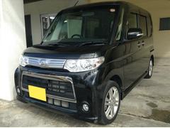 沖縄の中古車 ダイハツ タント 車両価格 89万円 リ済別 平成24年 4.8万K ブラックM